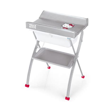 Brevi Changing Table Changing Table With Bath Brevi Lindo Hello 024 Silver