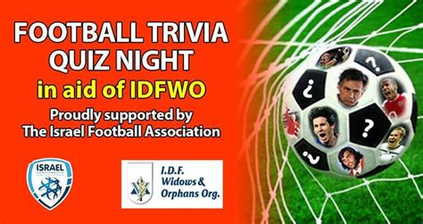 football trivia quiz idfwo football trivia quiz night secret tel aviv