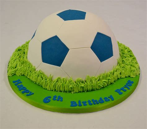 blue  white  football cake boys birthday cakes celebration cakes cakeology