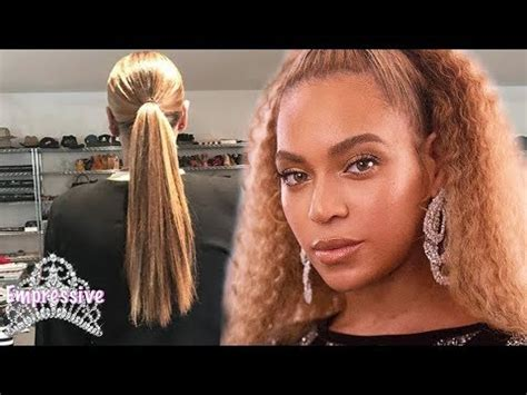 what does hoda use on her hair beyonce reveals her long natural hair yonce with the