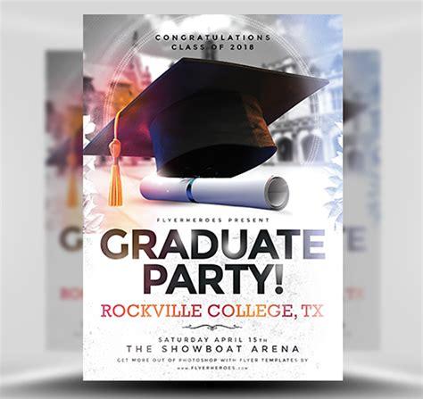 Graduation Party Flyer Template Flyerheroes Graduation Flyer Template Free