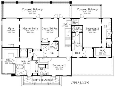 walton house floor plan walton way 9723 4 bedrooms and 4 baths the house designers