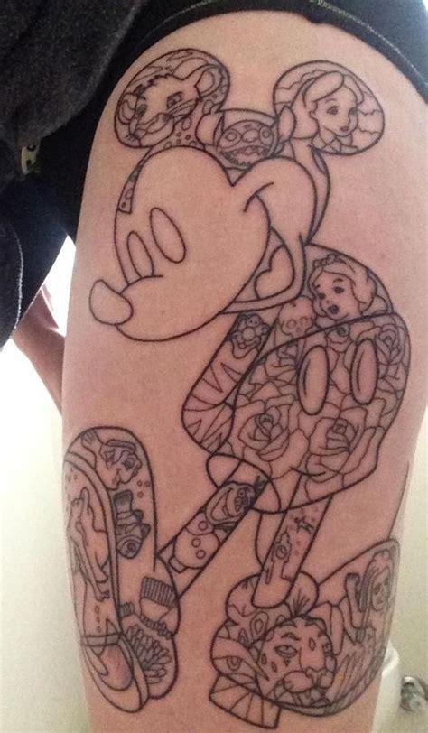 tattoo nation in port macquarie disney tattoo done by mick wildfire tattoo port