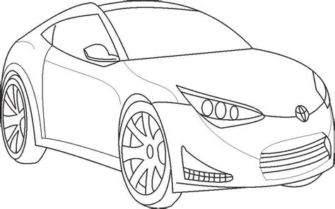 toyota car coloring page super car toyota coloring page for kids