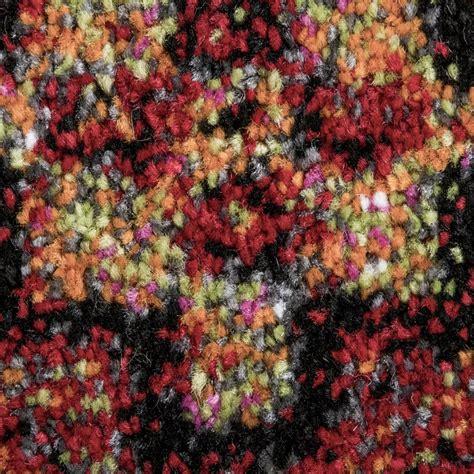 teppich schwarz gelb designer teppich bunt orient muster multicolour rot
