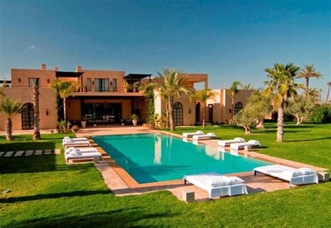 Moroccan Houses | luxury moroccan villa house design contemporary beautiful