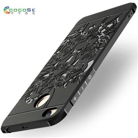Tpu Silicon Black Matte For Xiaomi Redmi 4x for xiaomi redmi 4x 4a silicone back cover 3d carved matte tpu cocose anti knock