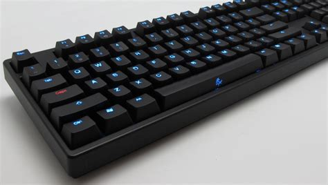 Keyboard Ducky Ducky Shine 1 Blue Led Mechanical Keyboard Black Cherry Mx