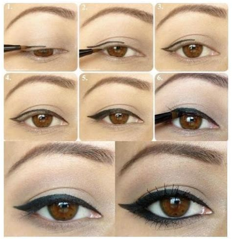 cat eyeliner tutorial step by step cat eye step by step style lust pinterest
