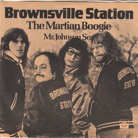 Brownsville Station Smokin In The Boy S Room by Song Of The Week The Martian Boogie By Brownsville