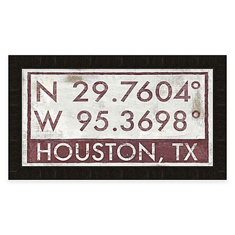 bed bath and beyond houston houston texas coordinates framed wall art bed bath beyond