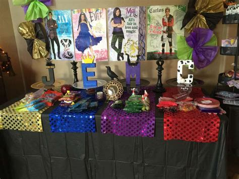 descendants birthday birthday party ideas photo 5 of 16