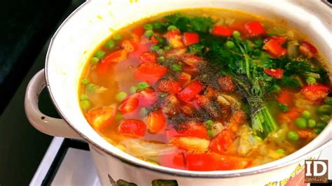 how to make vegetable soup youtube