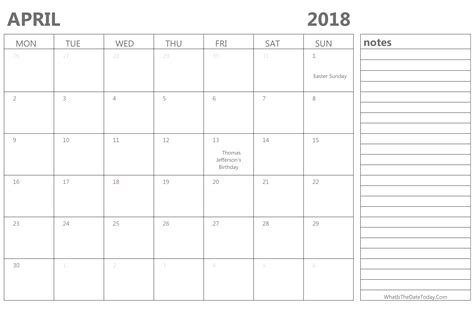 April 2018 Editable Calendar Free August 2018 Calendar Printable Blank Templates Holidays Edit Calendar Template 2018