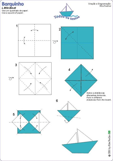 How To Fold A Paper Sailboat - 17 best ideas about origami boat on paper