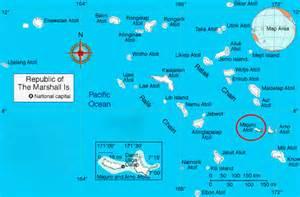 where is marshall on the map majuro marshall islands map