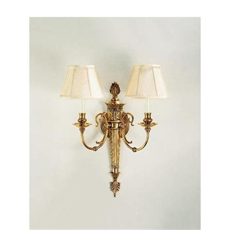 decorative wall sconce antique brass sconce 5064 from decorative crafts