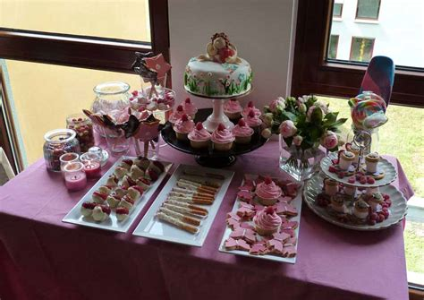 feen dekoration sweet table tisch deko candybar feen party