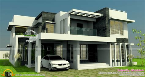 All In One House Elevation Floor Plan And Interiors Floor Plans And Elevations Of Houses