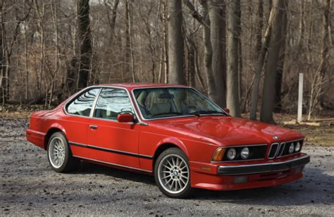 Bmw 635csi For Sale by 1988 Bmw 635csi For Sale On Bat Auctions Sold For
