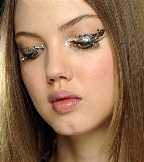 Fall 2008 Trend Glitter Eye by Pictures Makeup Trends For Fall Winter 2013 2014