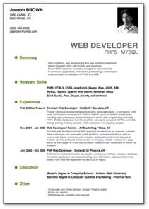 Resume Format New Models Top 10 Professional Resume Templates 1 10 Resume Cv