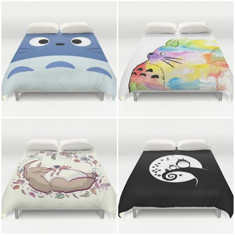 edredon totoro totoro duvet covers from society6 so awesome movie