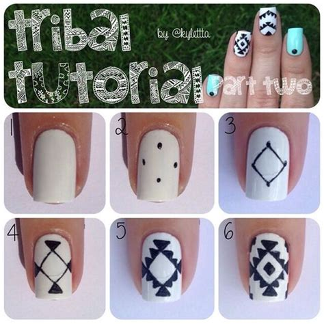 tutorial nail art instagram instagram analytics tutorial nails manicures and tribal