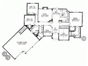 House Plans With Angled Garage by Ranch Home Plans With Angled Garage Cottage House Plans