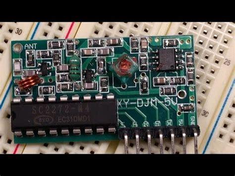 315mhz Rf Remote Module Pt2262 Pt2272 4 Channel Remote Button rf remote module review funnydog tv