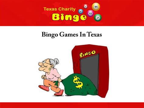 bingo games in texas authorstream