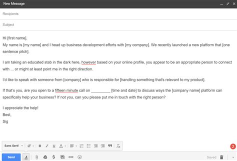 Cold Email Template Issues Are You Still Using These Stale Tactics Cold Recruiting Email Template