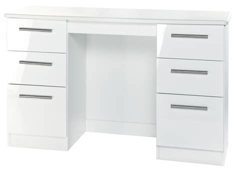 White Gloss Desk With Drawers by White Gloss Desk With Drawers Whitevan
