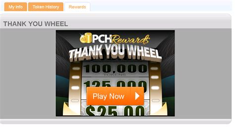 Pch Rewards - the pchrewards quot thank you quot wheel when can i spin it pch blog