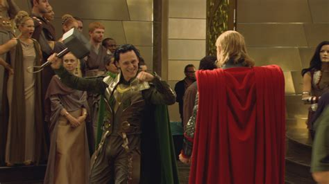 thor movie clips and behind the scenes footage collider tom hiddleston discusses loki s future in mcu