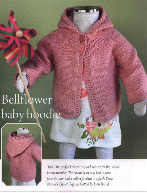 baby hoodie knitting pattern baby and toddle hoodie knitting pattern knitting free