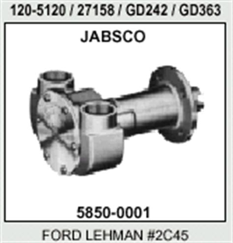 Ford Lehman Marine Water Pumps