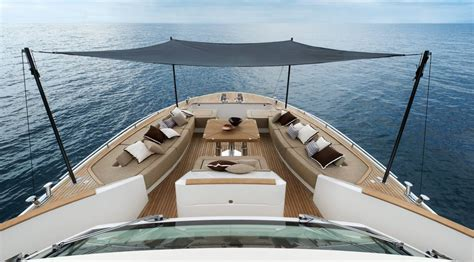 Sailboat Awning Sunshade by Mcy 86 Monte Carlo Yachts Luxury Yachts