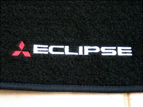 Mitsubishi Eclipse Floor Mats by Awesome Mitsubishi Eclipse 95 99 Black Floor Mats New Ebay