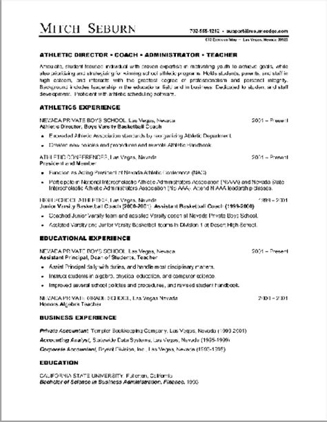 combination style resume sle a sle of resume for resume styles is the combination