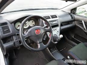 Honda Civic Ep3 Interior 2002 Honda Civic Si Honda Tuning Magazine