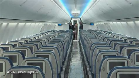 Boeing 737 900 Interior korean air boeing 737 900er with boeing sky interior tour