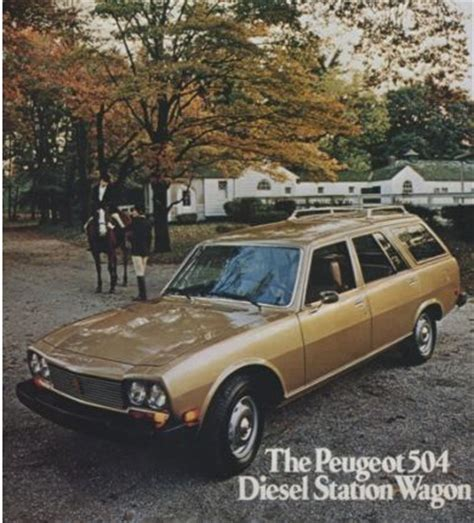 peugeot 504 wagon cars of a lifetime peugeot 504 diesel wagon the long