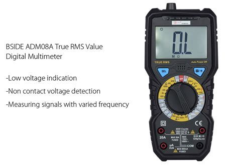 Mm 2 Digital Multimeter With True Rms rms value digital multimeter capacitance frequency test