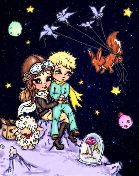 The Prince Book 4 The Planet Of Jade le petit prince by jadedragonne on deviantart