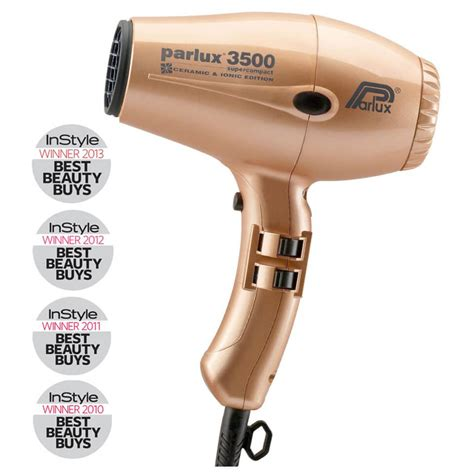 Mini Hair Dryer Australia parlux 3500 supercompact ionic and ceramic hair dryer gold buy at ry