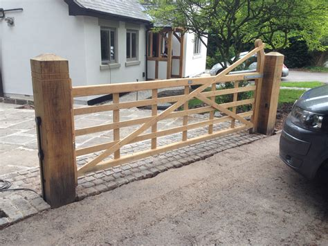swinging gate farm new installation of automation to five bar farm gate