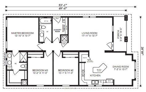 chion modular homes floor plans the oxford 3 bedrooms 2 baths square feet 1 461 dimensions 49 4 quot x 28 10 lake house