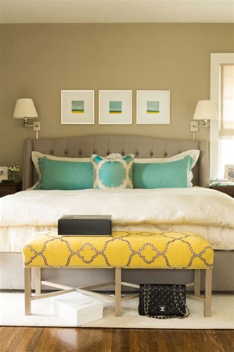 turquoise yellow bedroom hues decorating with yellow brewster home