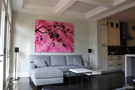exceptional Living Room Paint Design #1: cherry-blossom4-0.jpg